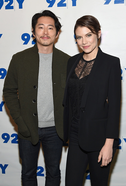 Is Lauren Cohan Married? This Is What We Know About Her ...  |Steven Yeun And Lauren Cohan Engaged